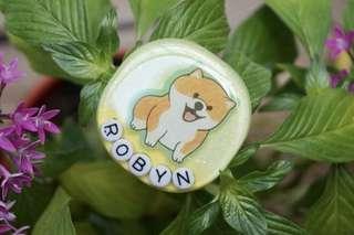 Shiba Inu Resin Keychain/Bag Charm/Magnet