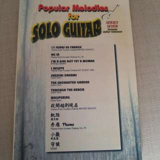 Popular Melodies For Solo Guitar