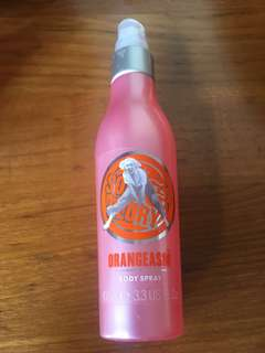 Soap and glory orangeasm body spray
