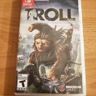 Nintendo Switch Game - 'Troll And I'