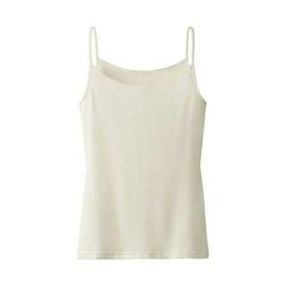 BNIB Uniqlo Heattech Camisole (Off White)