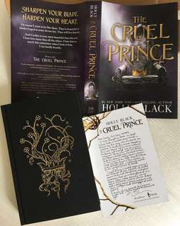 The Cruel Prince by Holly Black (OwlCrate Exclusive)