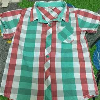 #Bajet20 Pre💕Authentic PONEY Boy's Short Sleeve Shirt