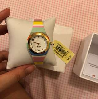 [REPRICED] Kate Spade New York Rumsey Multicolor Silicone Strap Watch