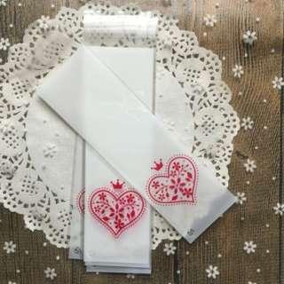 6x21 (18+3) cm Cookies Bag/Candies Bag/Gift Packaging