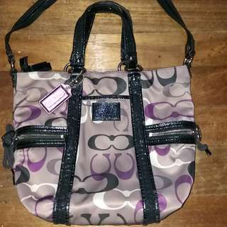 Authentic Coach dual sling v
