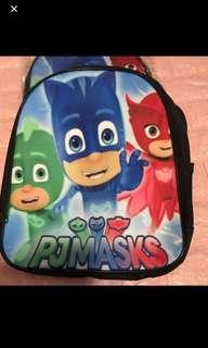 Instock pj mask bag ht 33cm brand new