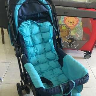 Baby Blue Stroller