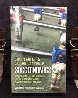 《Bran-New + Using Insights and Analogies From Economics, Statistics, Psychology, and Business To Illuminate How The Game Work》Simon Kuper & Stefan Szymanski - SOCCERNOMICS