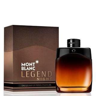 Mont Blanc Legend Night EDT 100ml