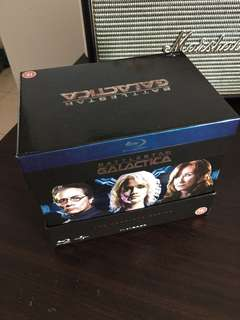 [Region Free, UK Import]  Battlestar Galactica - The Complete Series, 20 Blu Ray Box set