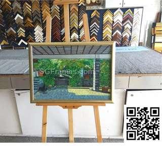 Creative Framing Service and Glass works SGFrames.com