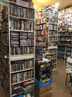 BLU RAYS AND DVDS
