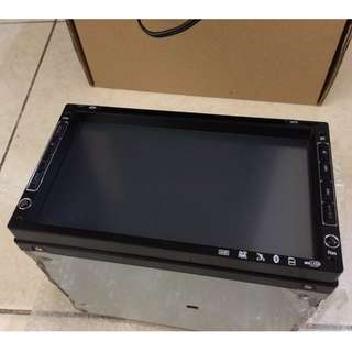 "**Promotion: Universal 7"" Double Din Touch Screen DVD TV USB"