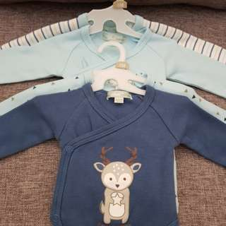 《BRAND NEW》 Long Sleeve Baby Romper
