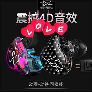 ZST 💕鍍銀線圈鐵耳機套裝💕