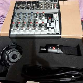 Mixer&sE-microphone