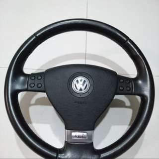 Volkswagen VW Golf MK5 Steering Wheel