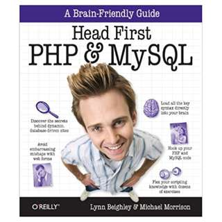 Head First PHP & MySQL: A Brain-Friendly Guide 1st Edition, Kindle Edition by Lynn Beighley  (Author),‎ Michael Morrison  (Author)