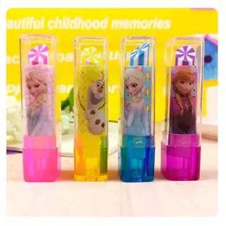 Frozen Lipstick Eraser