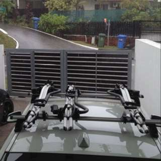 Thule Set with 3 Bike Carriers