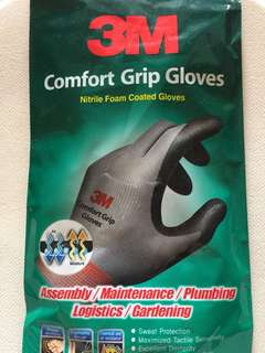 3M gloves (Grey)