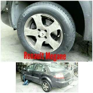 Tyre 195/65 R15 Membat on Renault Megane 🐕 Super Offer 🙋♂️