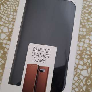 Samsung S8+leather case (brought from Korea)