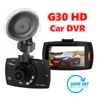 [SALES] Brand New and Quality 1080P Full HD Car DVR Car Camera Video Recorder 170 Degree Wide Angle In Car Camera Recorder/Black Box With Night Vision and G-Sensor (One Year Warranty) AND FREE SAME DAY DOORSTEP DELIVERY @ 38SGD!