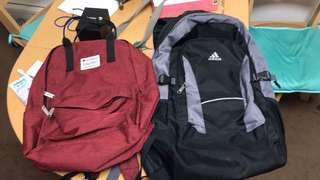 Champion Bag for her, Adidas bag for him