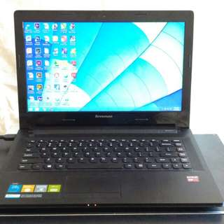 [LIKE NEW] Lenovo G40-45 14in AMD A8 Radeon R5 ram 4gb Hdd 500Gb