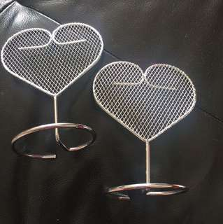 Accessory earring stand -2pcs Used once @$1each , preferred to take both ,height 13cm