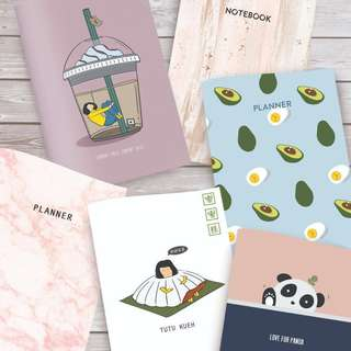 -SOLD- Assorted Monthly Planners