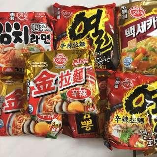 韓國泡麵均一價