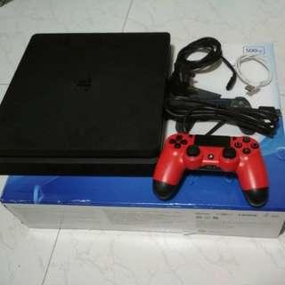 PS4 Slim 500GB Console (Black)