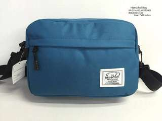 Herschel sling bag size : 7*11 inches