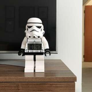 Lego Starwars Stormtrooper Alarm Clock
