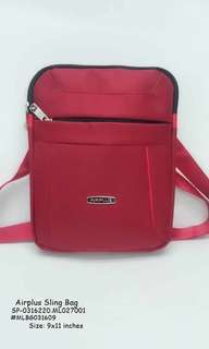 Airplus sling bag size : 9*11 inches