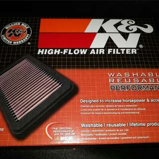 Hyundai Elantra Ad K n N air filter