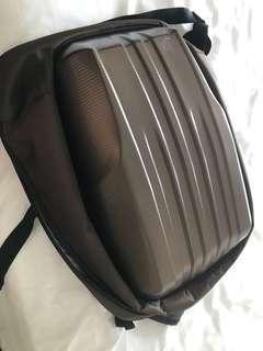 Hard shell maternity rucksack