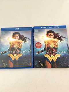 Wonder Woman Blu Ray + DVD + Digital HD