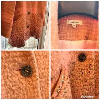 Manoush 法國名牌粉紅外套