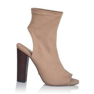 Billini Camel Ankle Boots - Size 7