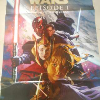 Star Wars Ep1, comic poster, Dark Horse