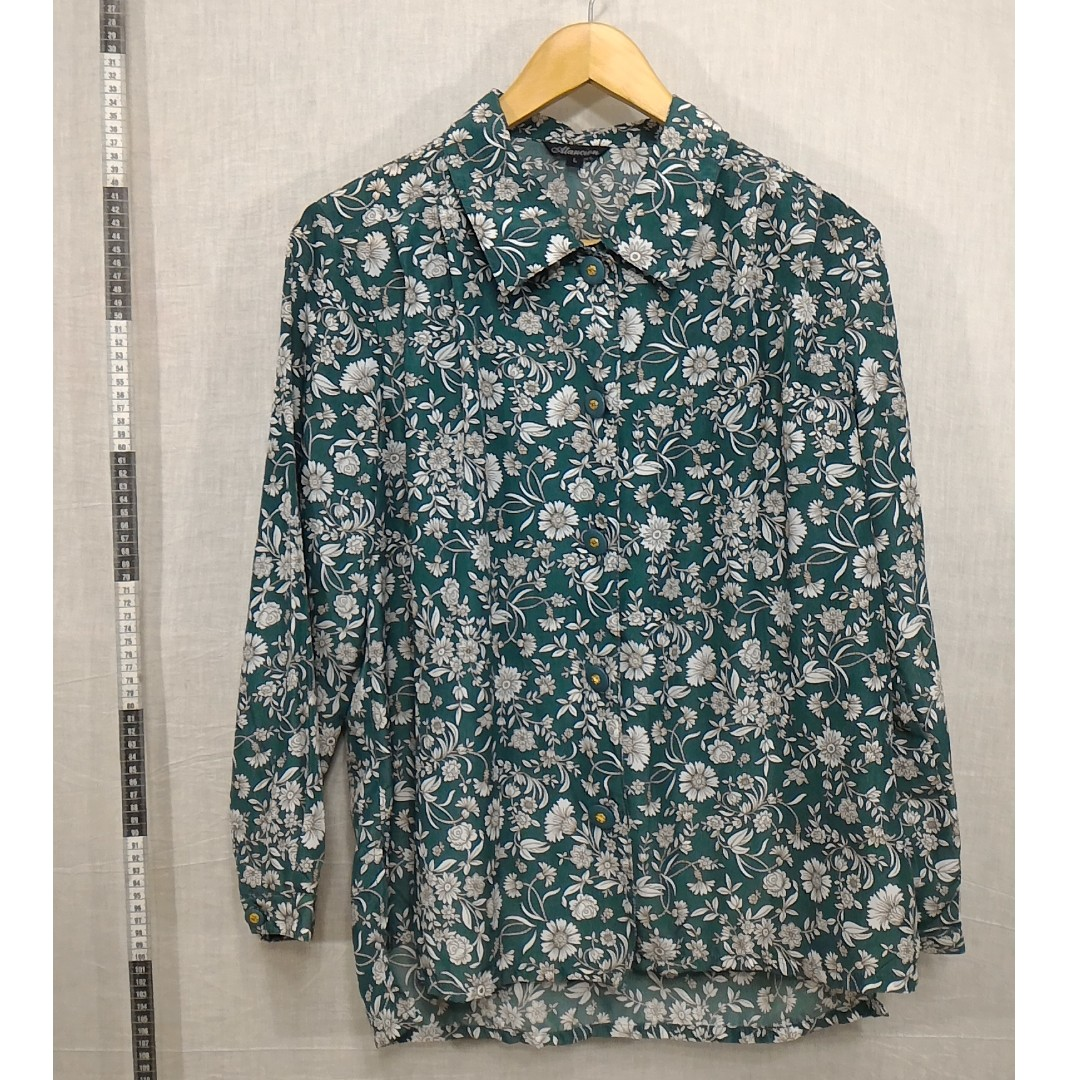 10118145-Atancion antique long-sleeved shirt古著長袖襯衫