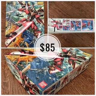 ZGMF-X19A INFINITE JUSTICE GUNDAM Z.A.F.T. MOBILE SUIT