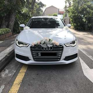 Wedding Car Audi A6 Bridal Car
