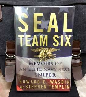 《New Book Condition + Hardcover Edition + Inside SEAL TEAM SIX》Howard E. Wasdin + Stephen Templin - SEAL TEAM SIX : Memoirs of an Elite Navy Seal Sniper