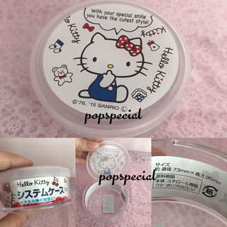 Last PCS Left Hello Kitty Acrylic round Container