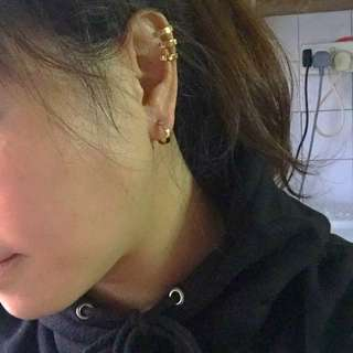 APM Monaco Set (Ear-clip + Earrings)
